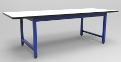 "RTW WORK TABLE, 30""D x 96""W, 72""W FRAME"