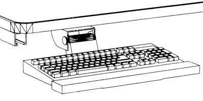 ADJUSTABLE KEYBOARD SUPPORT