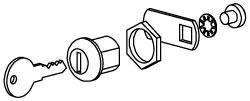 Drawer/Cabinet Lock Set
