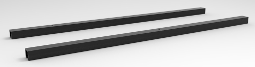 "WORKSURFACE SUPPORT RAIL, 48""W"