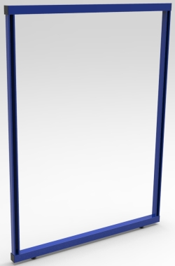 "FRAME, SINGLE-SIDED,  48""W x 52""H"