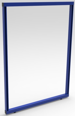 "FRAME, DOUBLE-SIDED, 60""W x 72""H"