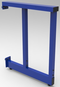 "2B-LEG, ADJUSTABLE, FOR 30""D  WORKSURFACE, EACH"