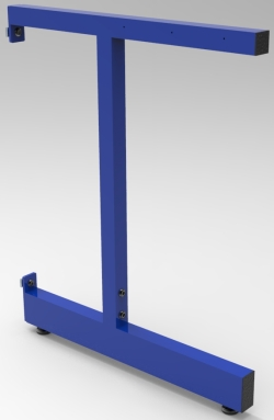 "C-LEG, ADJUSTABLE, FOR 30""D WORKSURFACE, EACH"