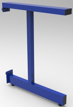 "2C-LEG, ADJUSTABLE, FOR 36""D WORKSURFACE, EACH"