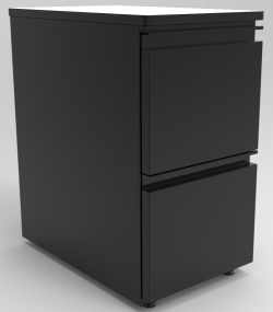 "DRAWER UNIT, 2-12"" DRAWERS"