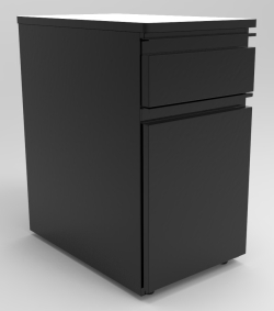"DRAWER UNIT, 1-6"" DRAWER + 1-18"" CABINET, LEFT HINGE"