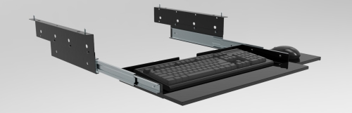 KEYBOARD DRAWER (WITH MOUSE TRAY)