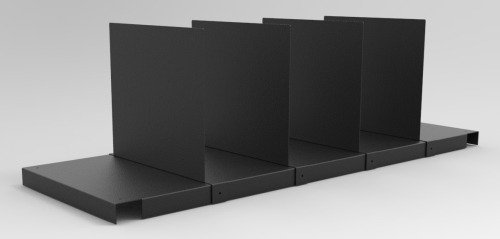 RTW UNDER-SURFACE SHELF DIVIDERS, SET OF 4