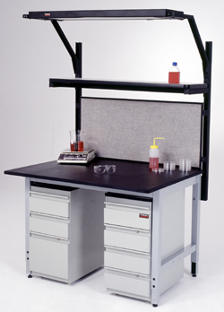 "LABORATORY WORKSTATION, 30""D x 48""W"